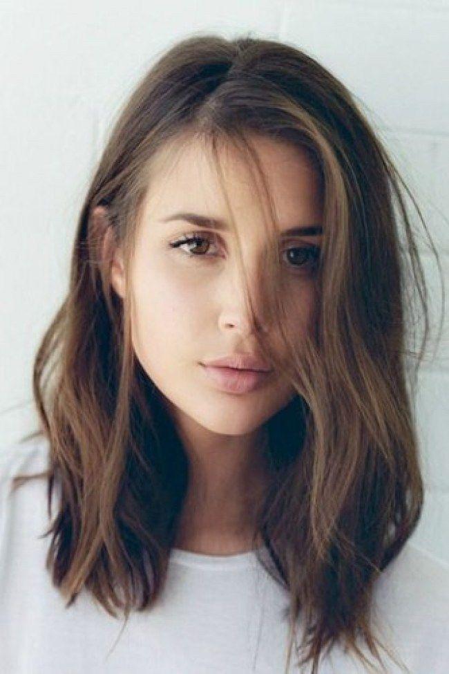 Frisuren Frauen Mittellang Glatt Frisuren