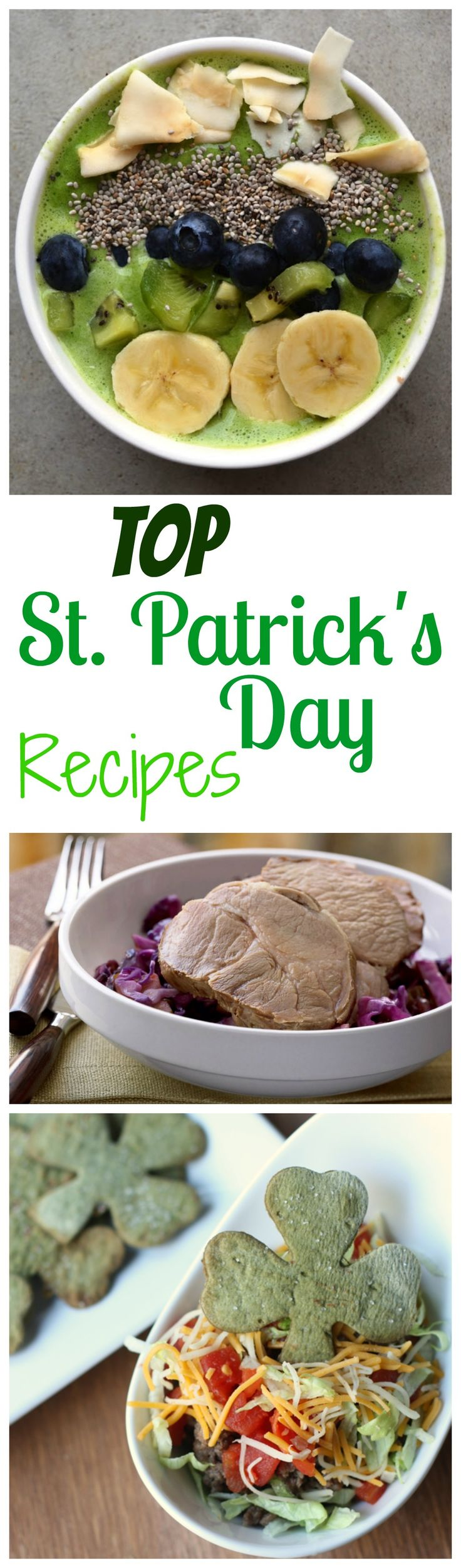 Top St. Patrick's Day Recipes including Gluten Free Blade Pork Roast with Braised Cabbage #ad #OntarioPork