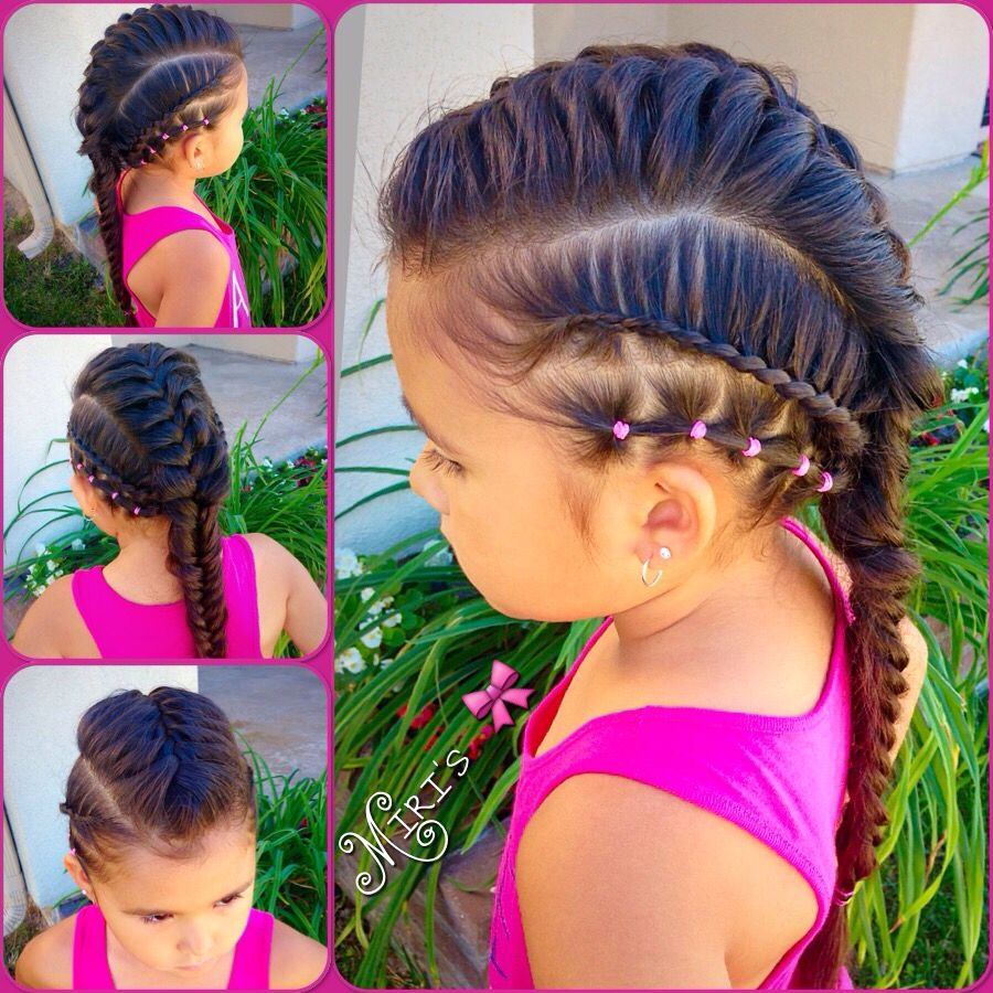 Mohawk hair style for little girls paola lo ama pinterest