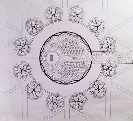 Lost Planet Saarinen S Mit Chapel Carol Kipling Saarinen Sacred Architecture Chinese Architecture