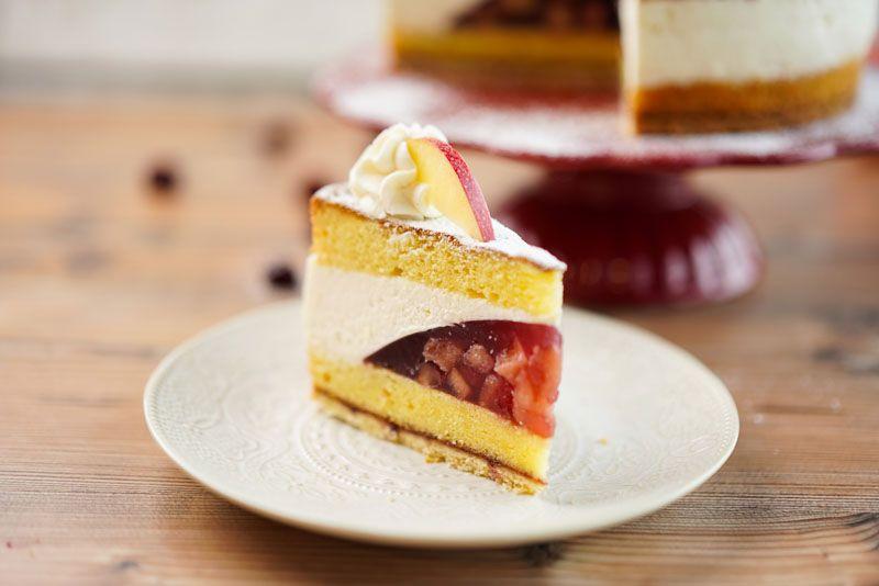 Apfel Kirsch Torte Sallys Blog In 2020 Kirschen Torten Apfel