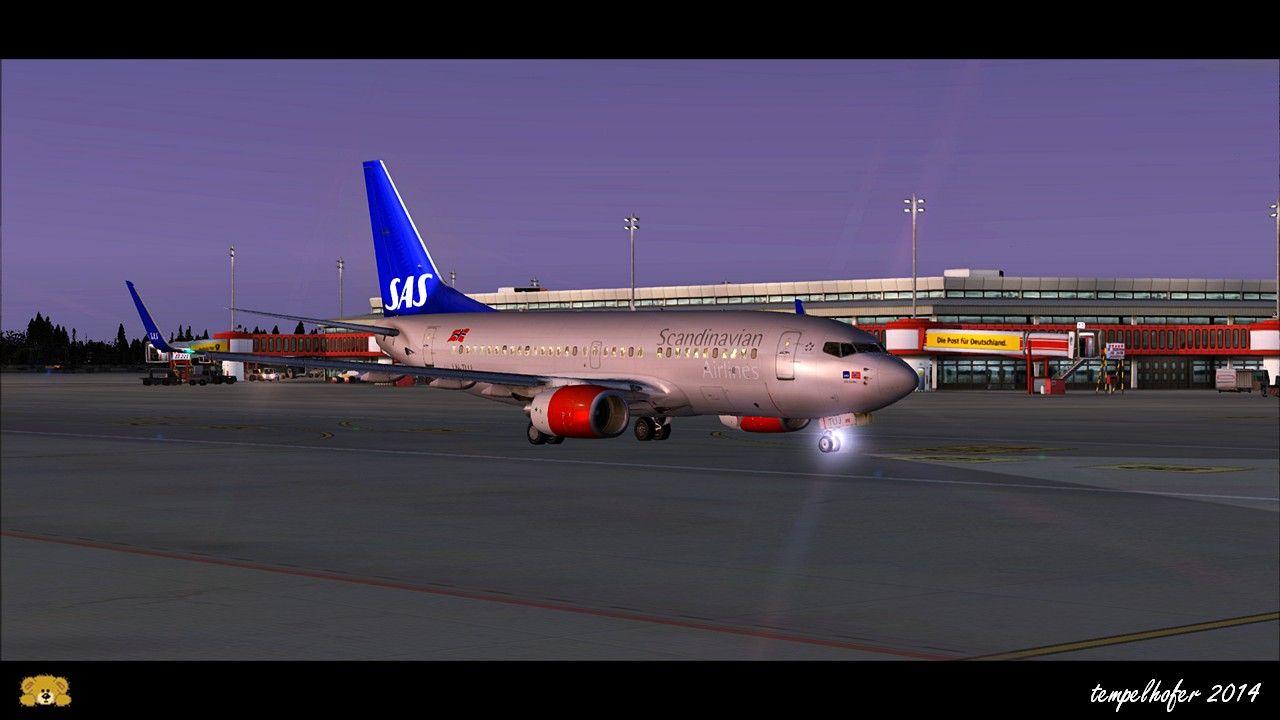 iFly 737 in Berlin Tegel (Aerosoft German Airports)