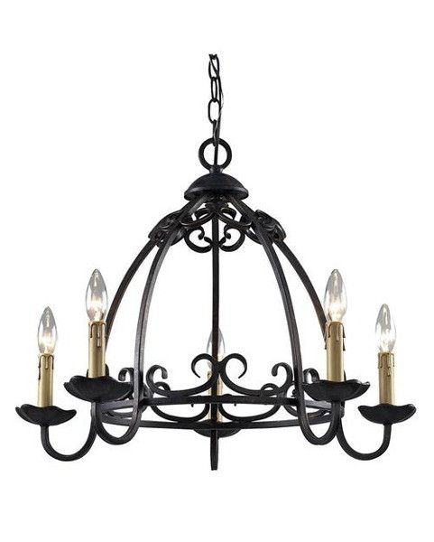 About 200 In Antique Gold Z Lite Lighting 402 5 Five Light Chandelier In Black And Antique Gold Finish Chandelier For Sale Chandelier Lighting Chandelier
