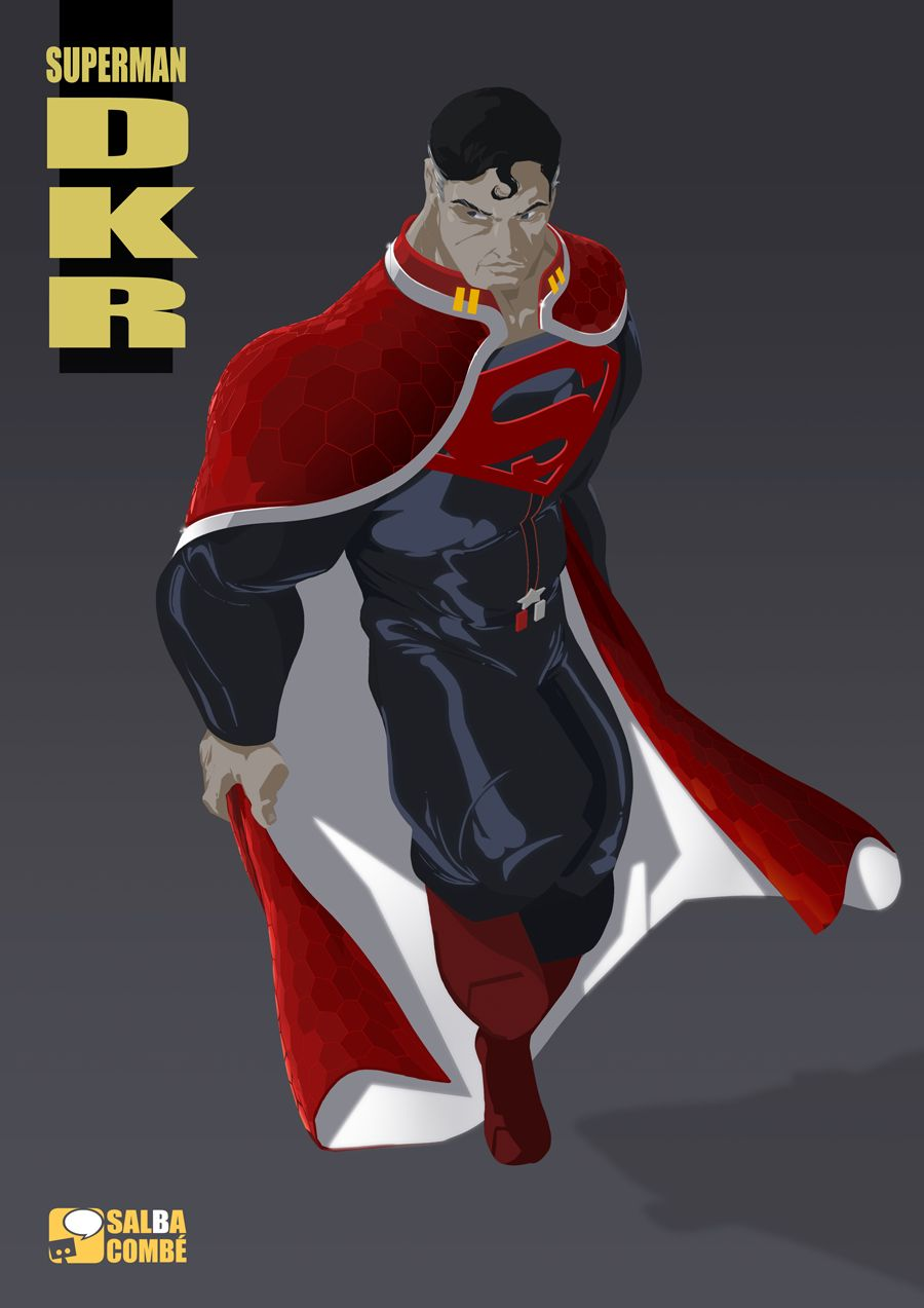 Revision Of Frank Millers S Dark Knight Returns Superman By