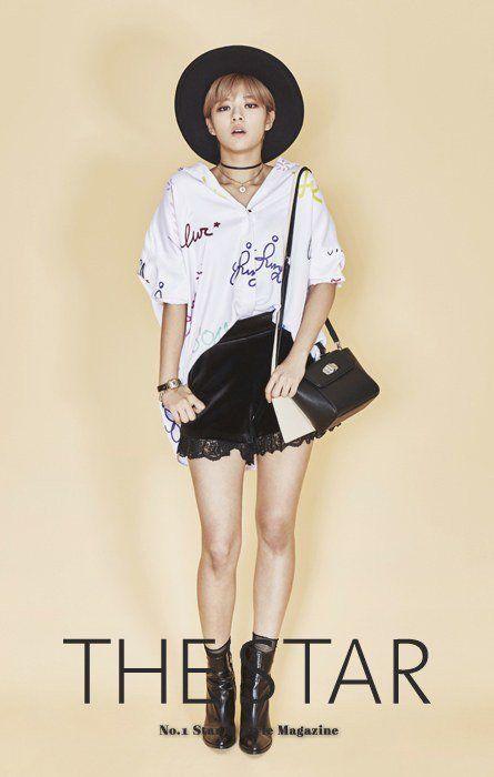 Twice Jungyeon The star Magazine October 2015