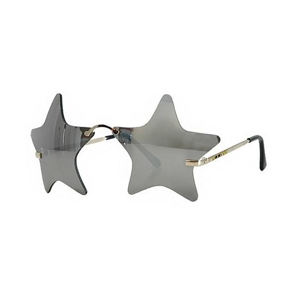 Bootsy Collins Mirrored Star Sunglasses ($9.99) found on