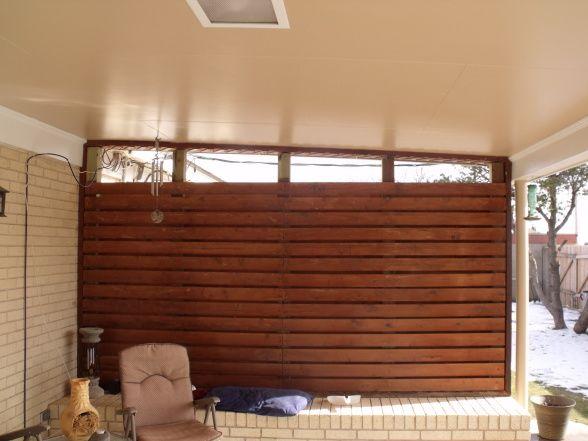 Wind Block Idea Porch Remodel Wind Blocking House Design
