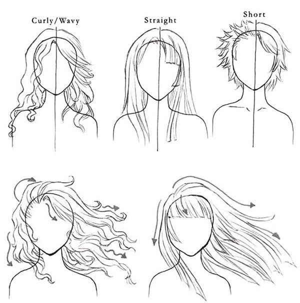 Easy Step By Step 9 Art Draw To Practice For You Page 4 Of 9 9facts How To Draw Hair Art Tutorials Drawings
