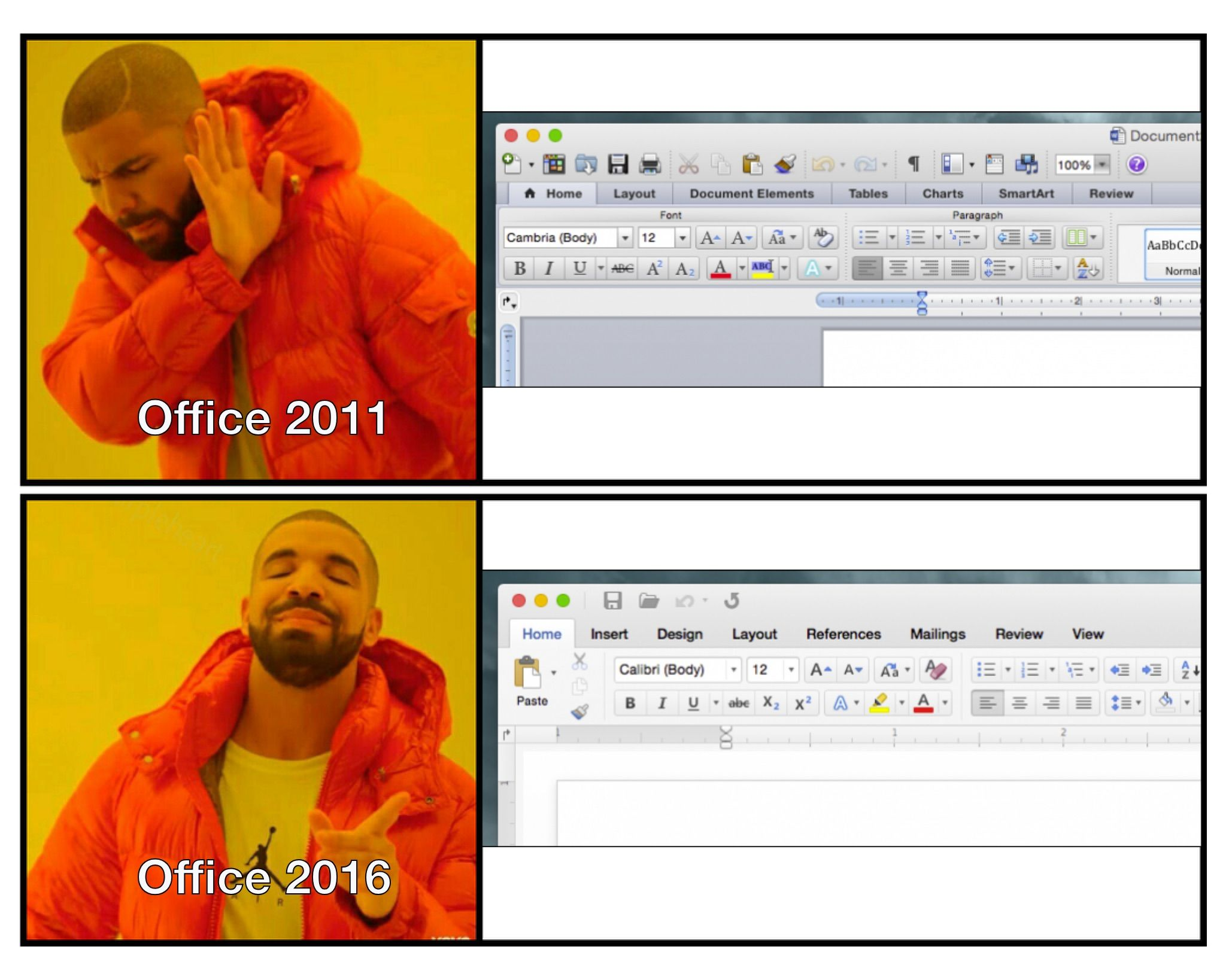 Office 2016 is thoroughly Mac aesthetic. How to