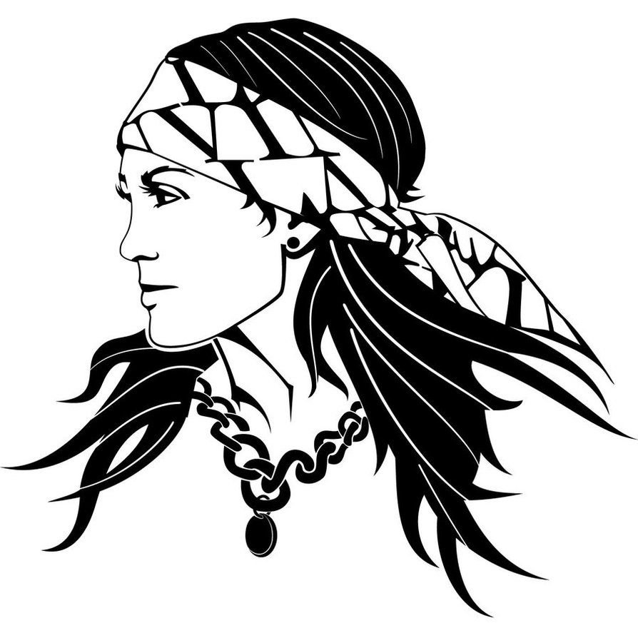 gypsy woman free vector kobiety pinterest gypsy women rh pinterest com vector images free for commercial use vector images free clipart