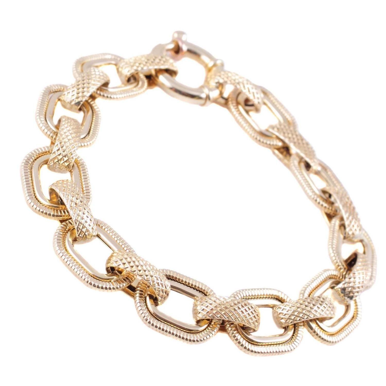 Italian yellow gold bracelet jewellery pinterest bracelets