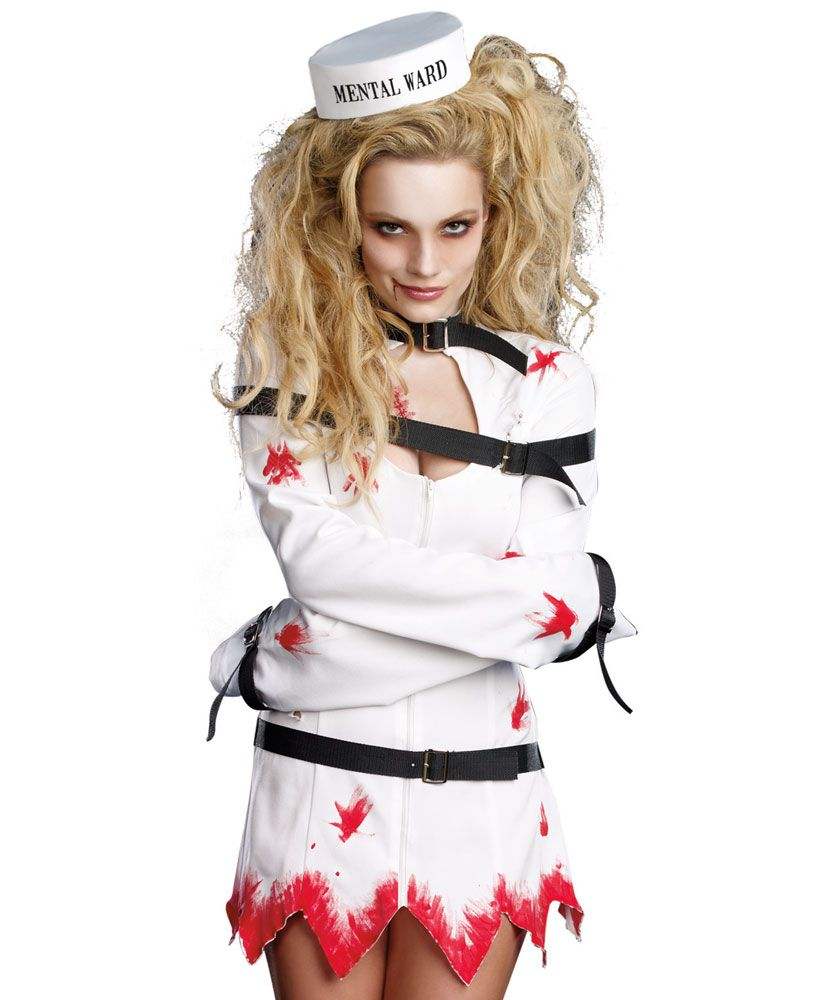 psycho halloween costume for women | Women's Sexy Psycho Ward ...