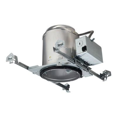Halo E26 5 In Raw Aluminum Recessed Light Housing For New