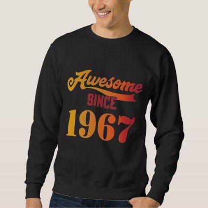 Vintage 51st Birthday Tee Costume For Men Women Sweatshirt