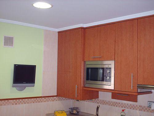 Perfectos remates de escayola en techos escayola - Remates de cocinas ...