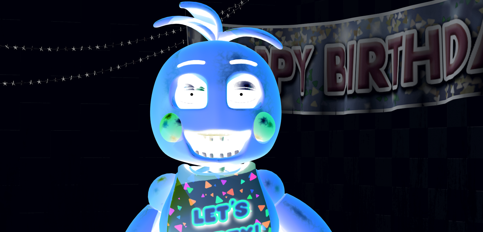 fnaf illusions optical flashes chica illusion jumpscares funtime tricks eye madly anywhere toy wall foxy