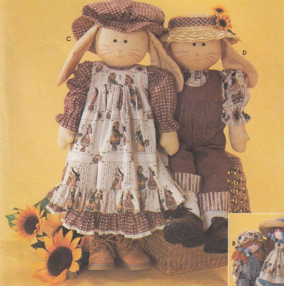 Simplicity crafts 7142 24 rag doll or bunny clothes sewing simplicity crafts 7142 24 rag doll or bunny clothes sewing pattern toy sewing pattern uncut sewing pattern craft sewing pattern jeuxipadfo Choice Image