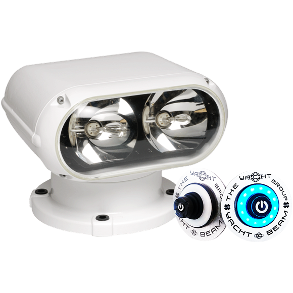 1mm Yacht Beam Searchlight Twin 35 Watt Metal Halide Hid Lamps Create A Narrow Beam Searchlight Perfect For Large Sport Yachts Beams Searchlight Yacht