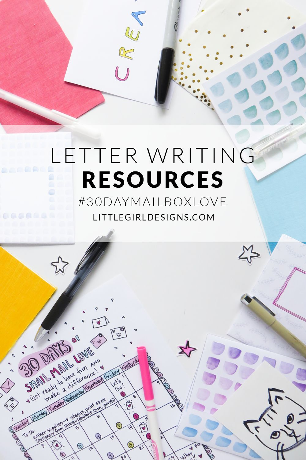 Letter Writing Resources For Writing Letters All Year Long Jennie Moraitis Letter Writing Lettering Pen Pal Letters