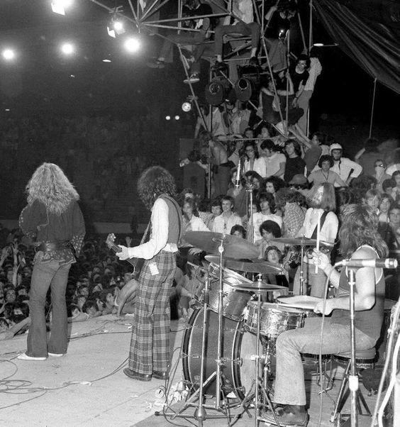 Led Zeppelin in Italy,1971.: