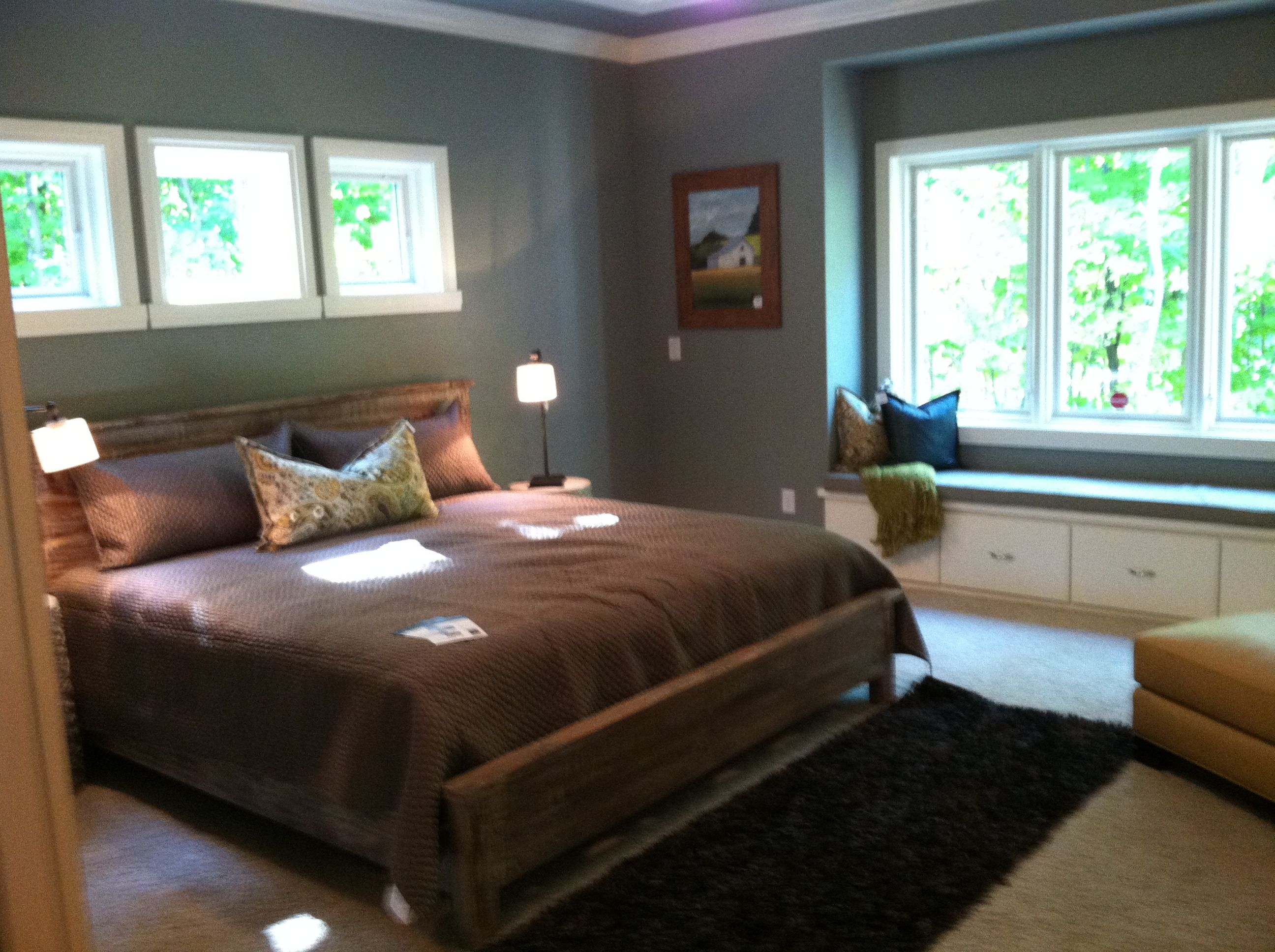 Bedroom ideas window behind bed  bedroom windows option for small room needing light above bed