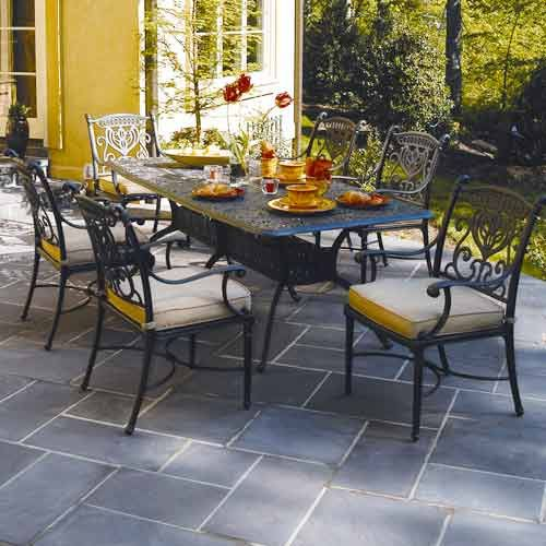 Relax Outdoors And Enjoy Our Grand Tuscany Dining Collection By Hanamint  Made From Cast Aluminum Now At Seasonal Concepts Online
