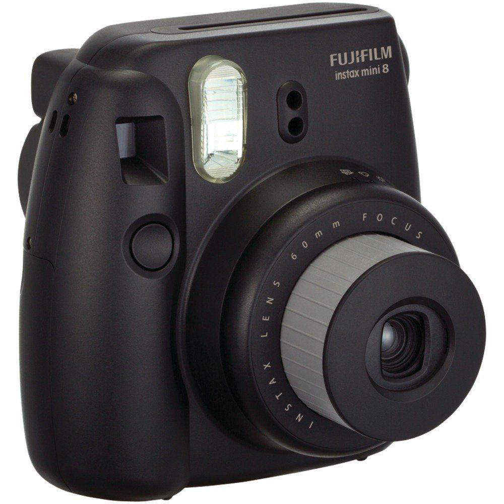 Amazon Com Fujifilm Instax Mini 8 Instant Film Camera Blue