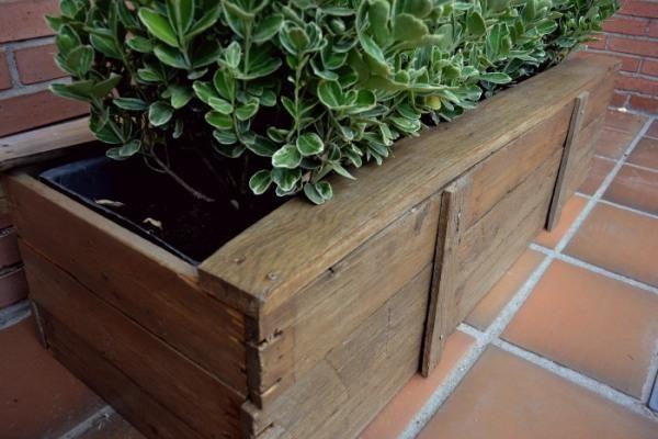 diy jardineras con palets hacer bricolaje es