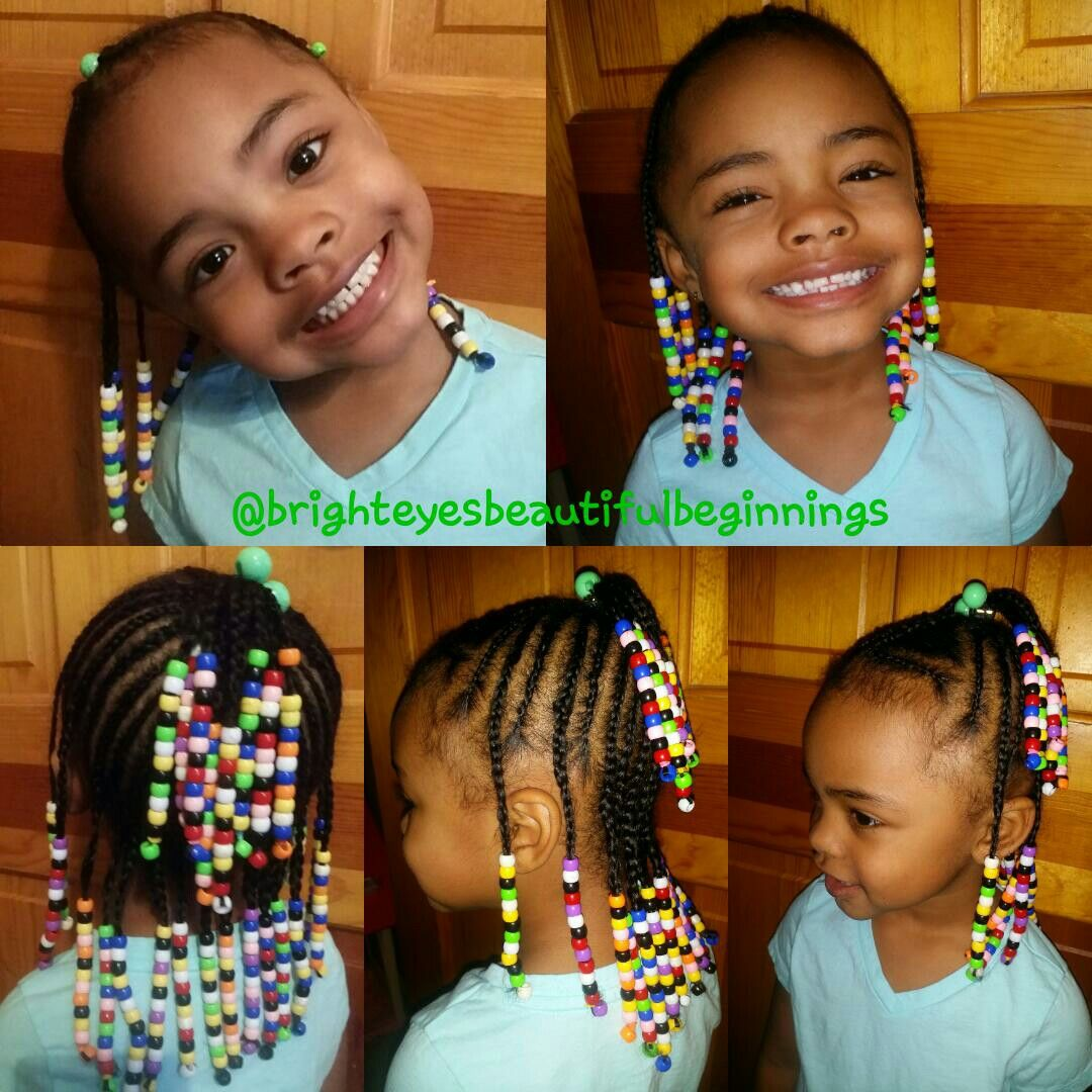 Braids and beads with a smole chile protectivestyling braids