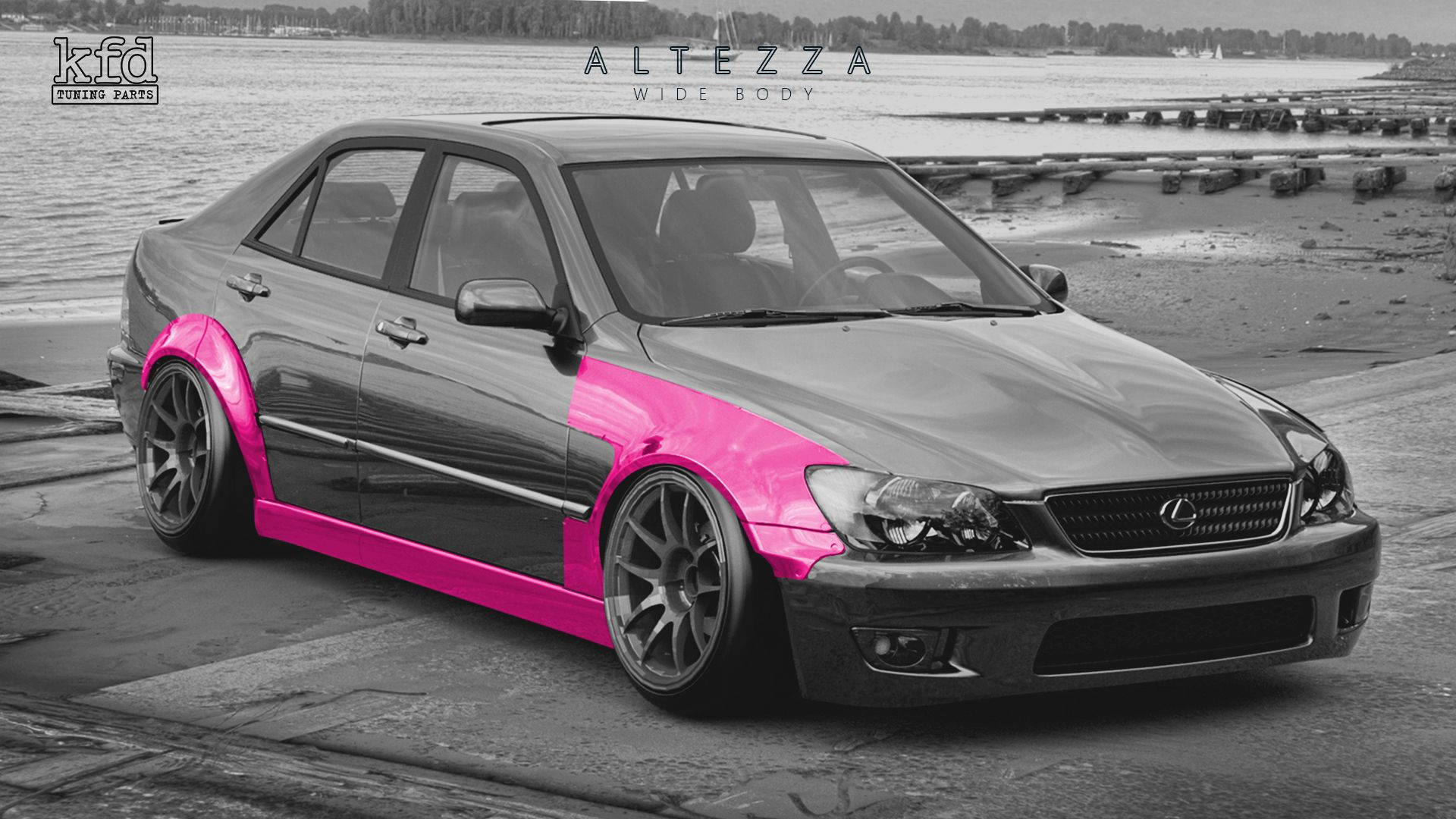 Wide Body Kit For Toyota Altezza Lexus Is200 Is300 Wide Body Wide Body Kits Body Kit