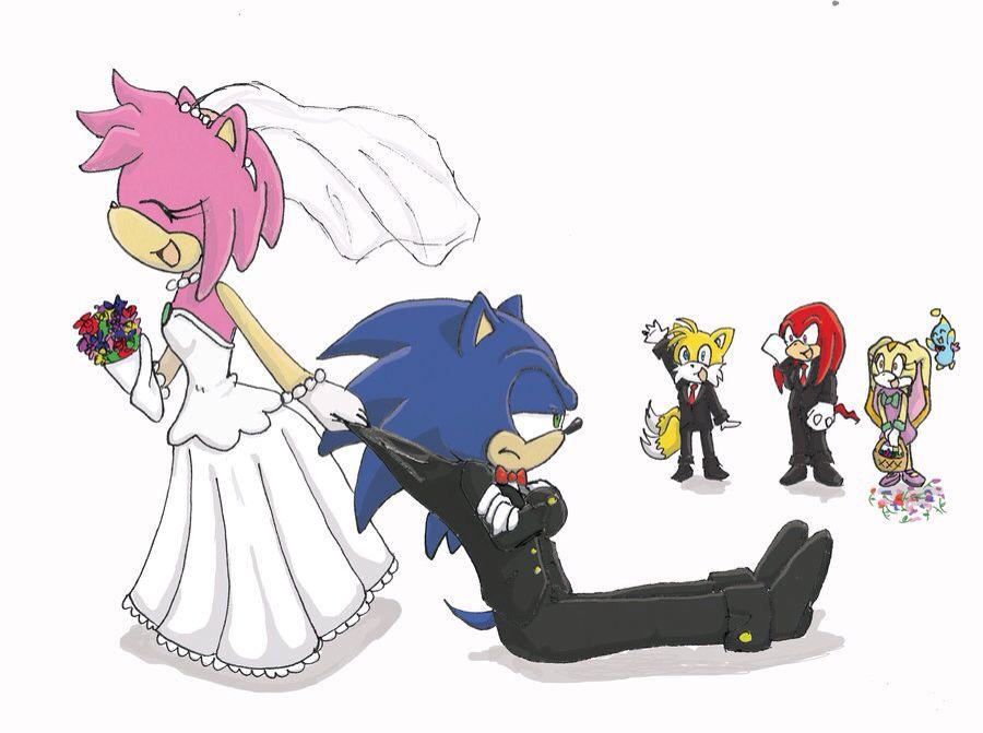Sonamy wedding | Sonamy | Sonic, amy, Sonic the hedgehog ...Sonic And Amy Wedding Naruto