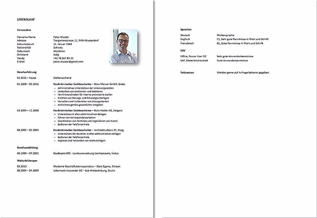 Lebenslauf Und Motivationsschreiben Vorlage Berufstatige Konservativ Diejobberater In 2020