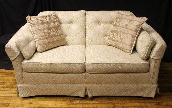 Key City Furniture Attached Pillow Back Sofa Love By Scrantonattic 499 99