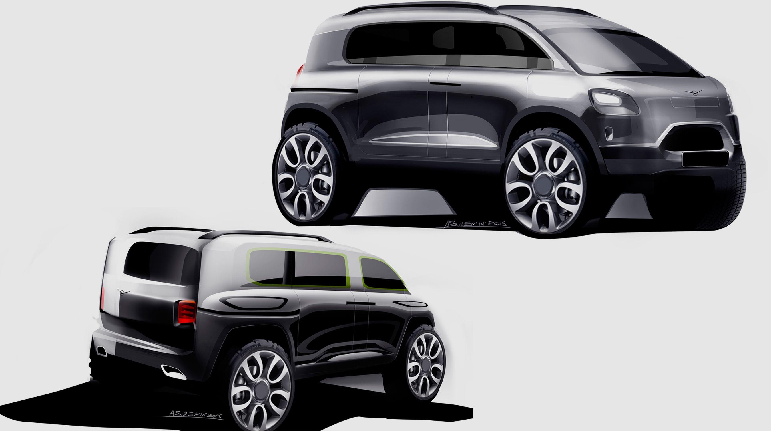 UAZ 459 on Behance Car sketch, Car design, Suv car