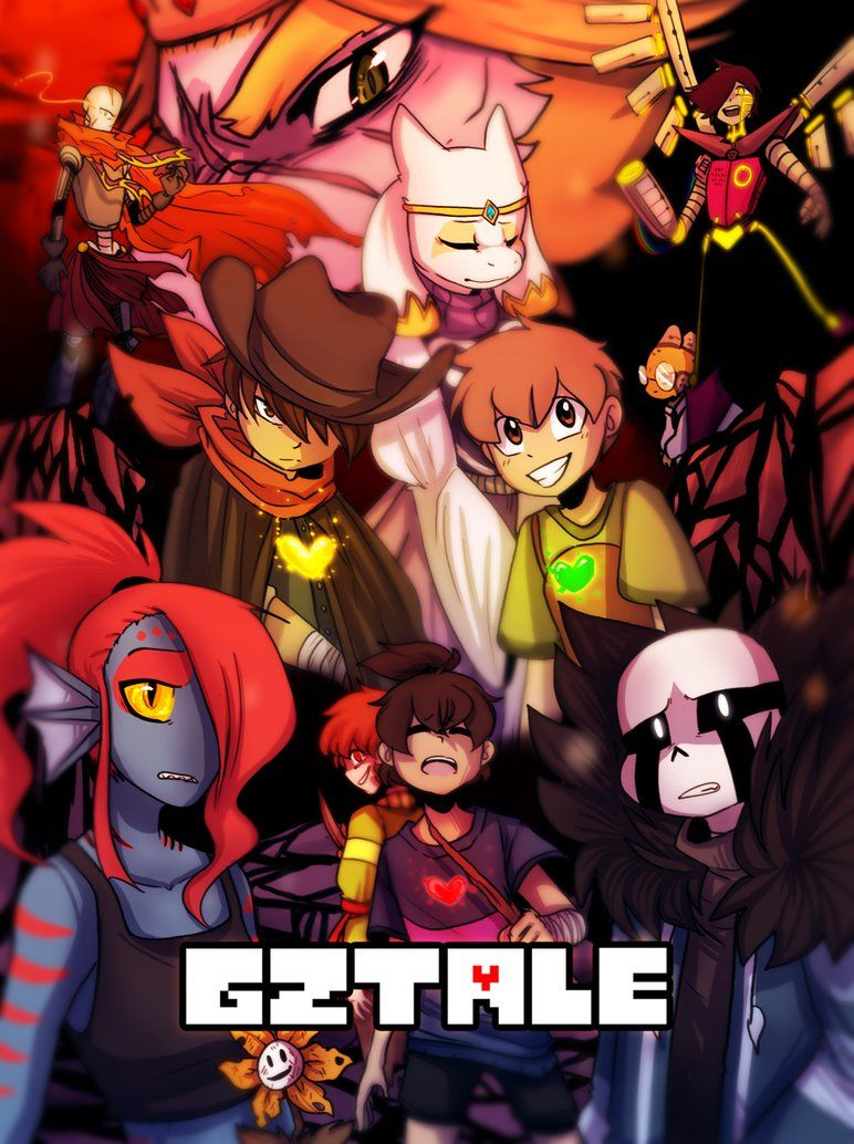 Gztale Poster By Golzyblazey Undertale Undertale Drawings Undertale Comic