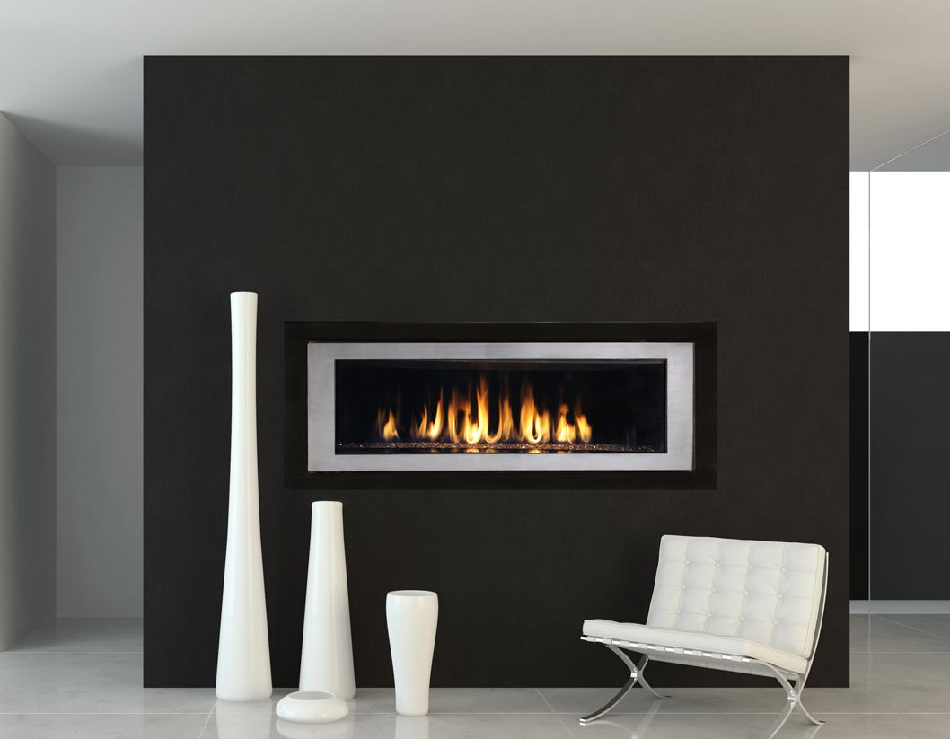 Modern Gas Fireplace Divine Image Black Ideasjpeg