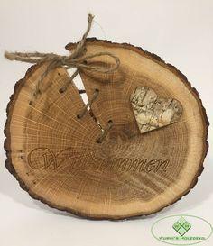 Baumscheiben Deko Artikel – Wunderschöne Produkte aus Baumscheiben. Baumscheiben Dekoration und Schilder jetzt erhältlich #holzdekoration