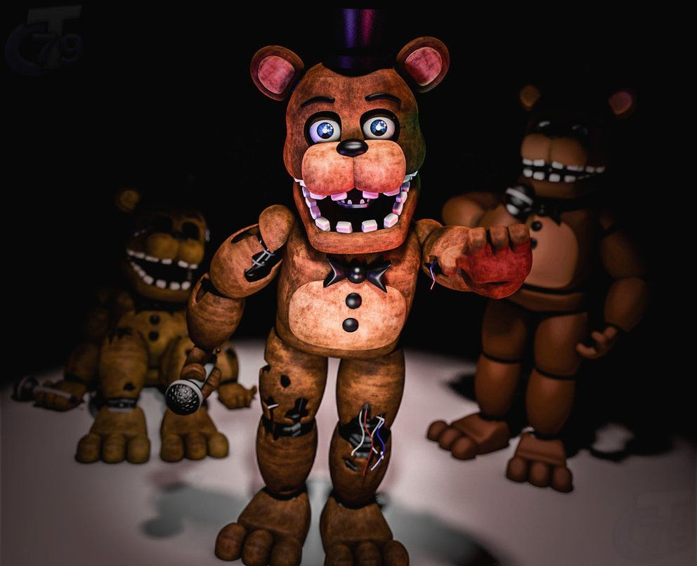 Withered Freddy by Capt4inTeen79 deviantart com on @DeviantArt