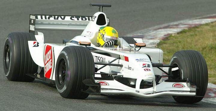 Ralph Firman Testing A Bar Honda In 2002 Formula 1 Motorsport F1 Drivers