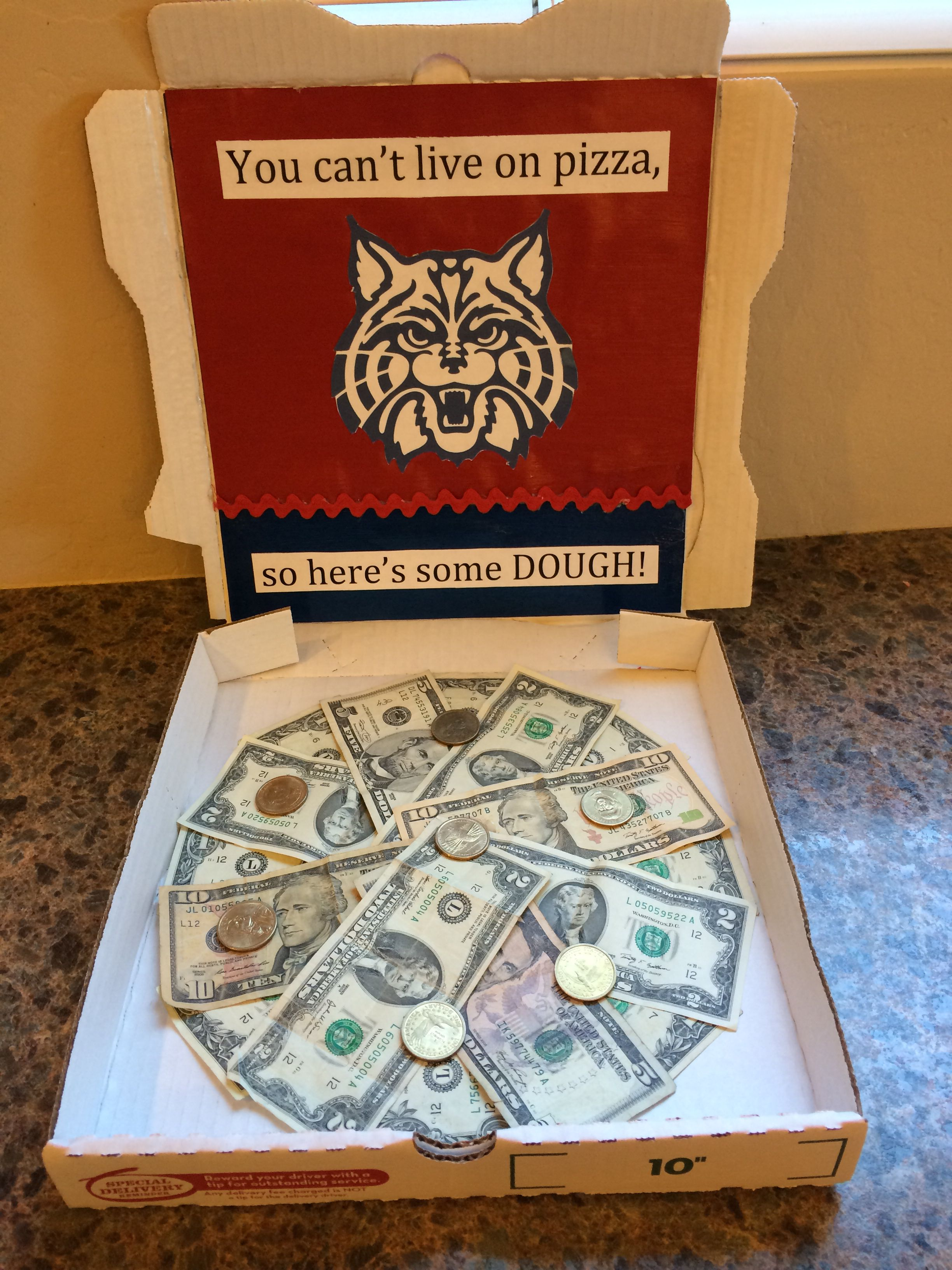 High School Graduation Gift: U of A inspired | Crafty ...