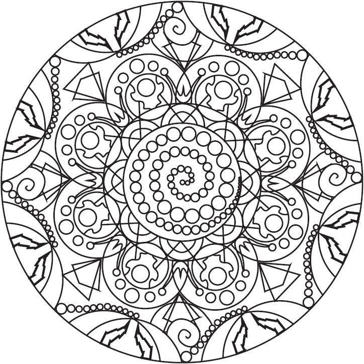 Как нарисовать мандалы для привлечения денег? | Mandala