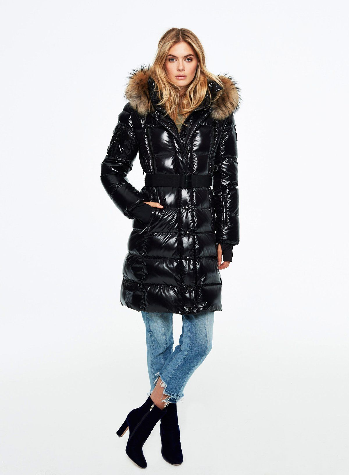 b5fdc832c Infinity | Quick Saves | Winter outfits women, Coat, Fur puffer coat
