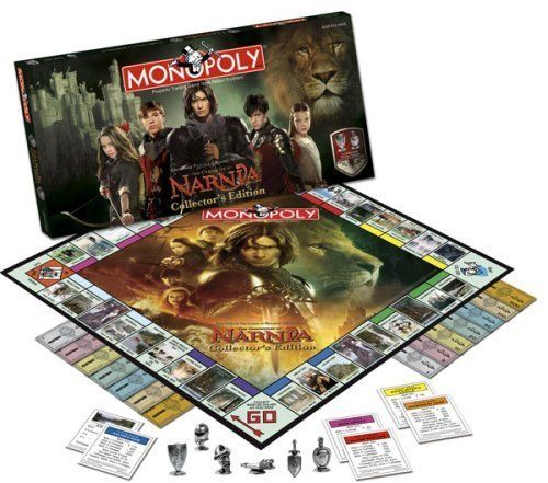 Chronicles of Narnia Monopoly board game by USAopoly