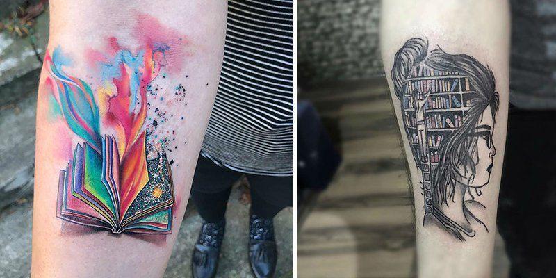 20+ Exceptional Book Tattoo Ideas | Book tattoo, Tattoos
