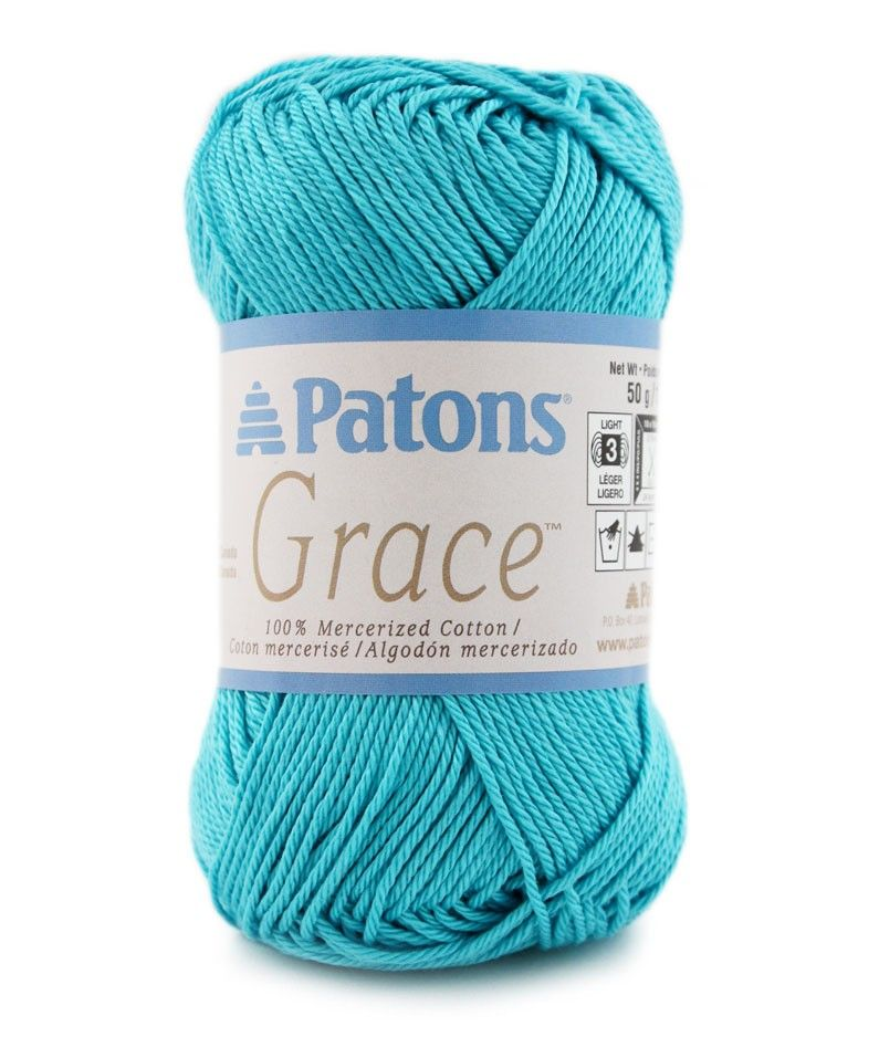 Grace By Patons Is A Sport Weight 100 Mercerized Cotton Yarns We