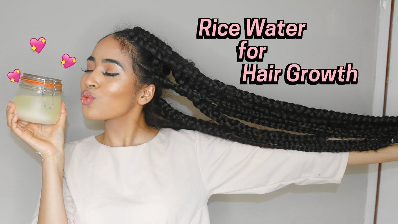 Fermented Rice Water Rinse To Nourish Natural Hair Water Hair Growth Natural Hair Styles Healthy Natural Hair