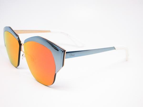 a07905c78286 Dior Mirrored I29U7 Violet Rose Gold Sunglasses