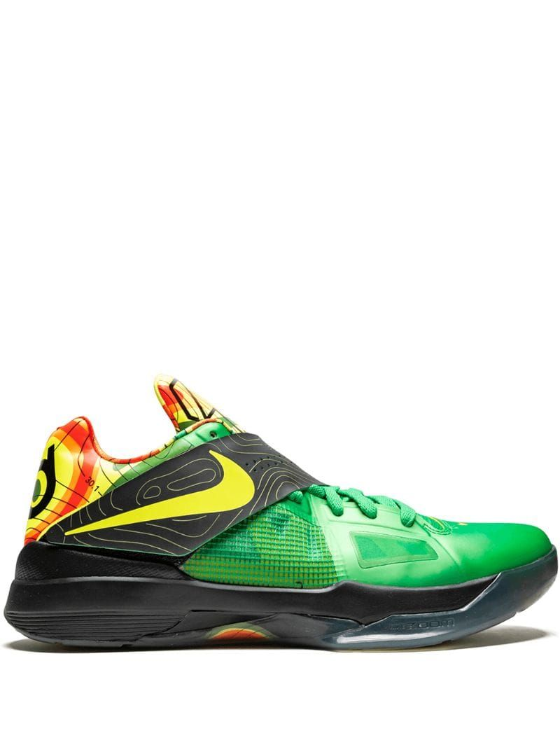 best loved a42bd ad96b NIKE NIKE ZOOM KD 4 SNEAKERS - GRÜN. #nike #shoes | Nike in ...