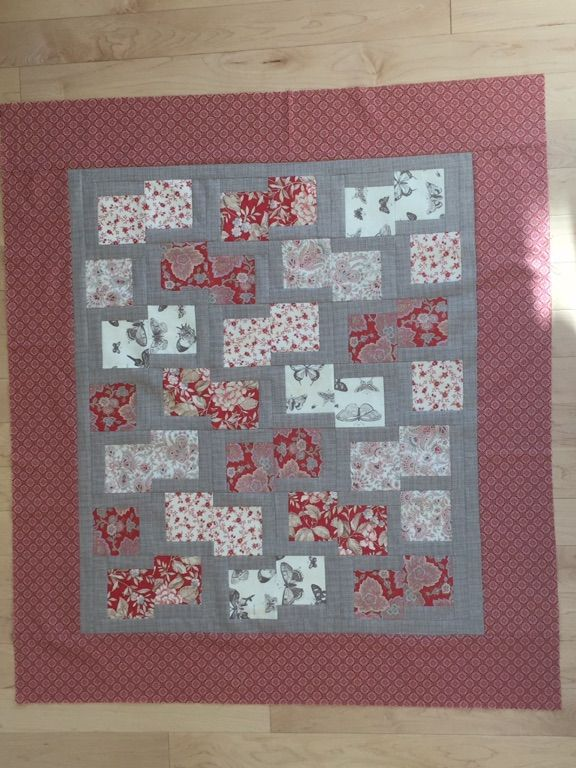 New fat eighth quilt pattern. Designed by Ingrid Machtemes- lots of variations
