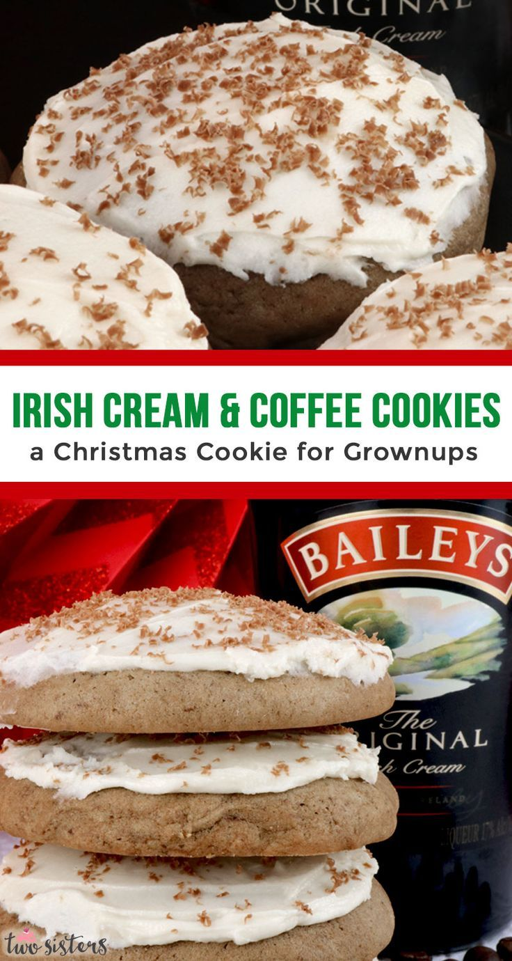 Coffee Cookies with Baileys Frosting | Recipe | Coffee ...